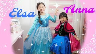 ELSA and ANNA MAKEOVER