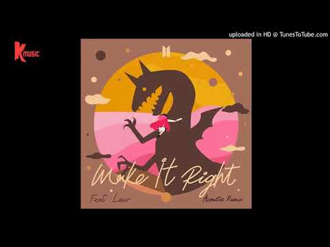 ‪BTS - Make It Right (feat. Lauv) (Acoustic Remix)‬ ver.