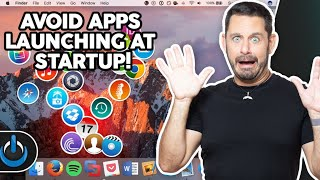 Stop Apps from Launching at Startup - MAC - Tech Talk America