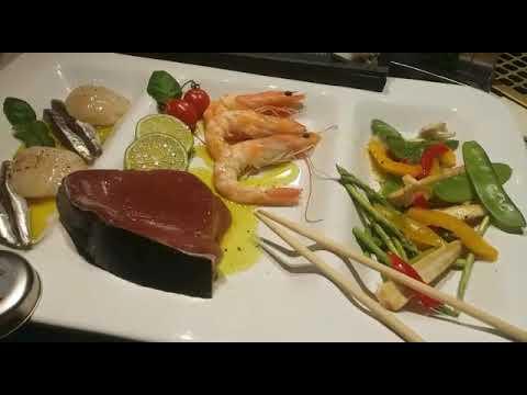 Salzstein mit Fisch im Kombi-MULTI-Dampfgarer