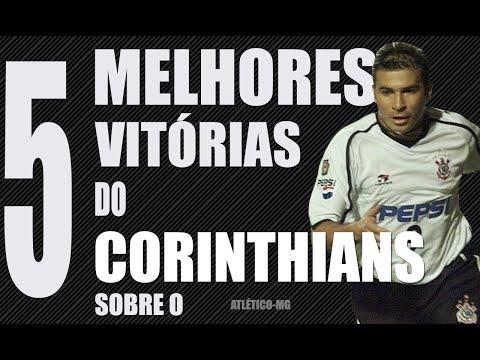 As cinco maiores vitórias do Corinthians sobre o Atlético-MG