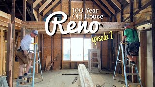 Renovating A 100-Year-Old House | Episode 2: The Loft Floor Design And Material Prep
