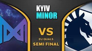 Nigma vs Liquid Semi Final EU Starladder SL Kyiv Minor 2020 Highlights Dota 2