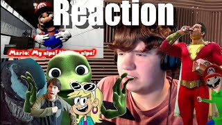 Gamecubedude reacts to SMG4: Freddy