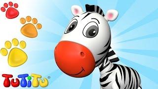 TuTiTu Animals | Animal Toys for Children | Zebra and More!