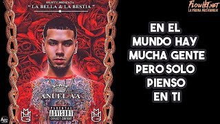 La Bella y La Bestia - Anuel AA  (Video)