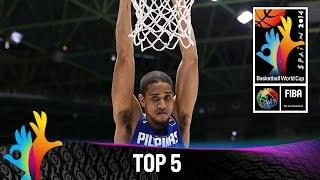 Смотреть онлайн Лучшие моменты чемпионата мира по баскетболу 2014