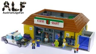 Lego Simpsons 71016 Kwik-E-Mart - Lego Speed Build Review