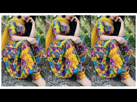 Printed Punjabi Suits Designs Summer wear Collection