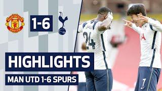 Manchester United 1-6 Tottenham Hotspur Pekan 4
