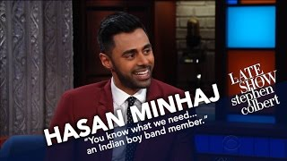 Hasan Minhaj And Stephen Compare WH Correspondents' Dinner Stories