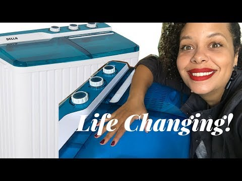 My Life Changing Portable Washing Machine!! (Della)