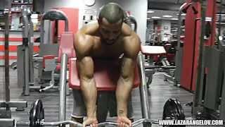 Lazar Angelov new workout fitness 2014