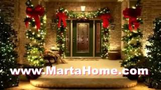 Exterior Ideas Christmas Front Door Decorating Ideas
