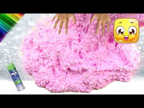How to make floam slime giant fluffy snow slime no borax liquid how to make floam slime giant fluffy snow slime no borax liquid starch baking soda eye drops ccuart Gallery