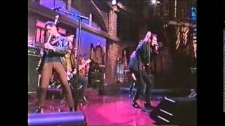 Sponge - Plowed on Letterman  - 07-19-1996