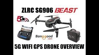 ZLRC SG906 CSJ-X7 BEAST GPS DRONE OVERVIEW