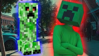 Creeper Life - Minecraft In Real Life Animation