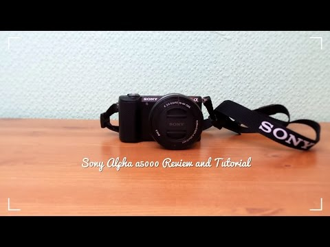 Sony Alpha a5000 Basic Tutorial and Review