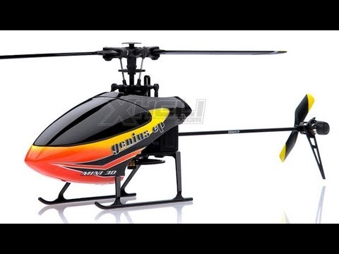 Walkera Genius CP 6ch Flybarless RC Helicopter Review