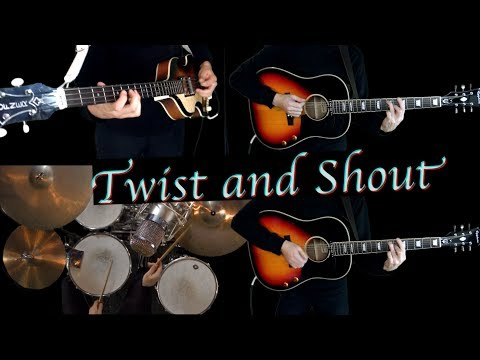 Twist and Shout - Instrumental Cover - Guitars, Bass and Drums