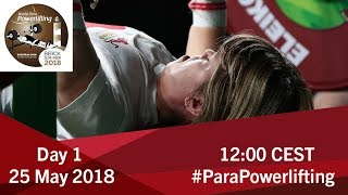 Women's Up to 41kg & 45kg | World Para Powerlifting European Open Championships | Kholo.pk