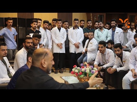 شاهد بالفيديو.. مدير صحة المثنى يمتنع عن الرد على مطالب الأطباء الجدد بشأن رواتبهم #المربد