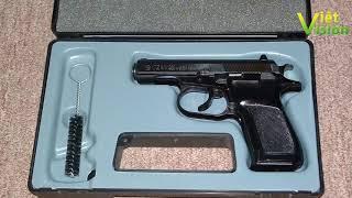 Những khẩu súng ngắn đang được sử dụng phổ biến trong lực lượng vũ trang Việt Nam
