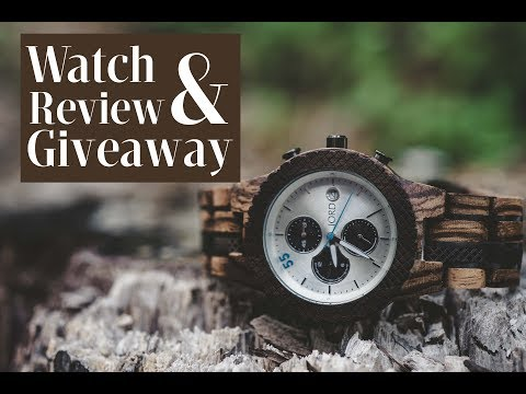 Wooden Watches l JORD Wood Watches Showcase & Giveaway