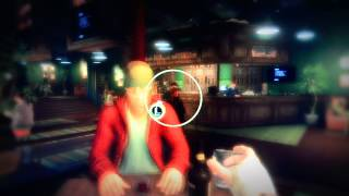 Getting Drunk at the Bar in Video Game