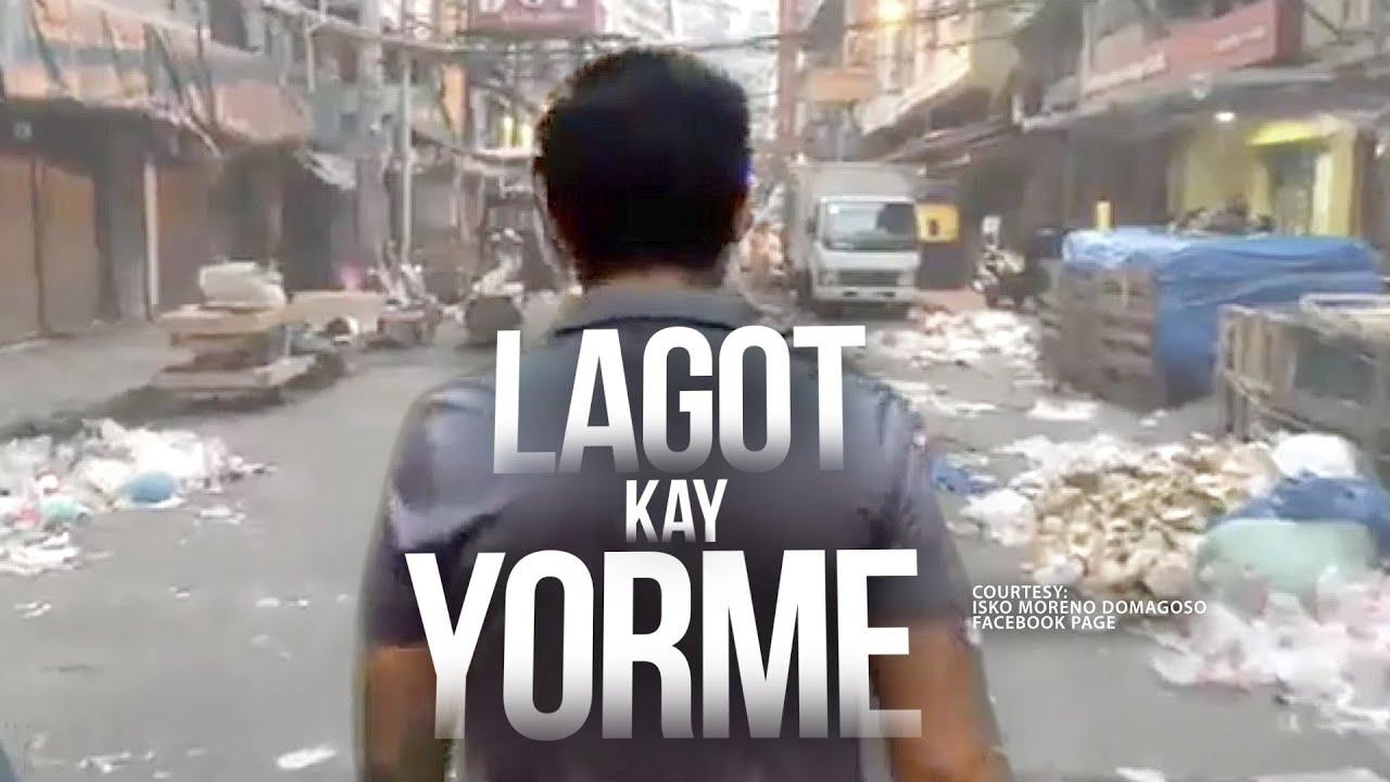 Photo of Manila Mayor Isko Moreno, nainis sa dinatnang basura; mga tindahan, pinagbabaklas