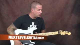 Blues guitar lesson learn Buddy Guy inspired Feels Like Rain style rhythms chords liks more