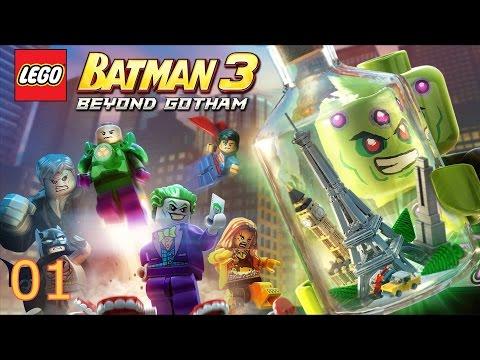Vidéo LEGO Jeux vidéo XB360BAT3ADGF : Lego Batman 3: Au delà de Gotham XBOX 360 + Porte-clé