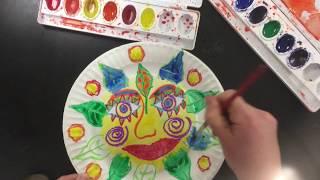 Mexican Folk Art Inspired Suns