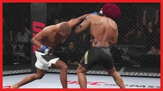 UFC 2 Ultimate Team Gameplay - PUT THAT YOUNG MAN TO SLEEP!!
