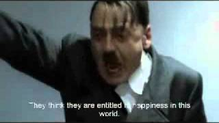 Hitler celebrates WonkyTonkBotty getting 500 subscribers