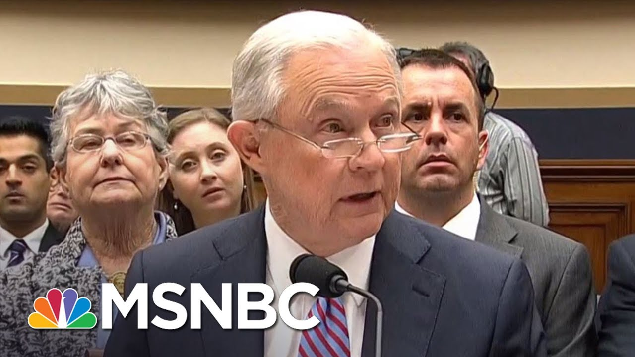 There's A Lot Jeff Sessions Can't Recall | Hardball | MSNBC thumbnail