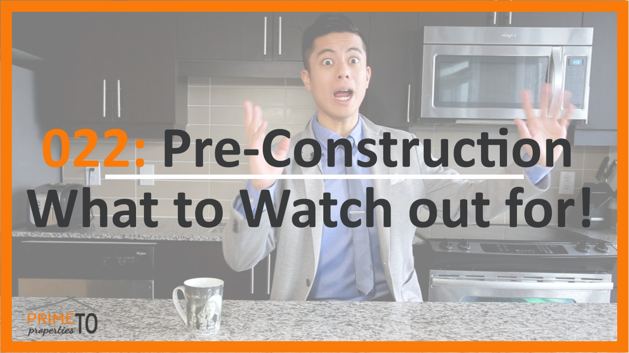 Pre-Construction - What to Watch Out For!