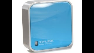 Tutorial TP Link Nano Router Unboxing Deutsch