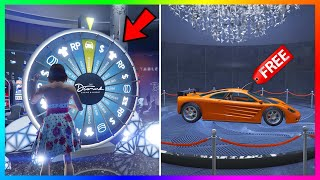 Rockstar Made A GIANT Change To the Lucky Wheel In GTA 5 Online...4th Of July 2020 DLC & MORE!