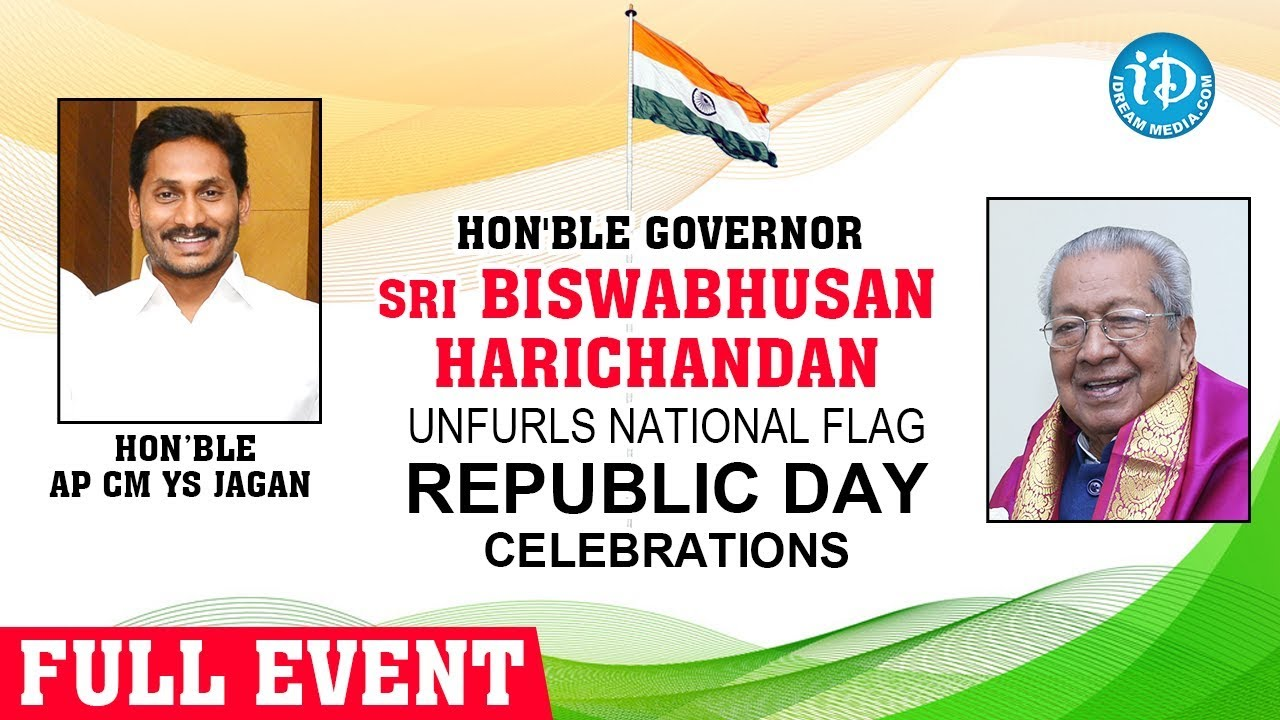 LIVE: Governor Biswabhusan Harichandan unfurls National Flag, Republic Day Celebrations