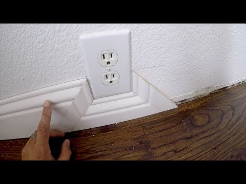 Baseboard Trick – SIMPLE Installation Around Obstacles
