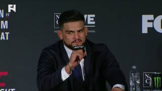 UFC Fight Night Long Island: Kelvin Gastelum on Dropping Weidman - If I Only Had