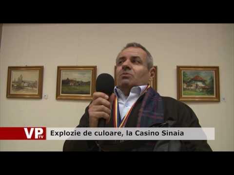 Explozie de culoare, la Casino Sinaia