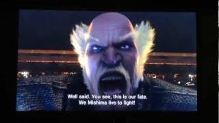 Теккен(Tekken), Вся сцена Мисим 10 минут