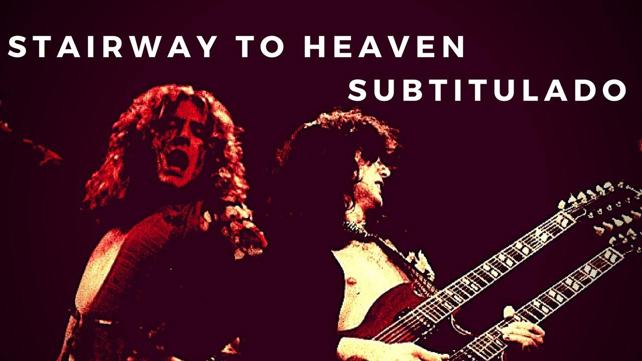 Led Zeppelin - Stairway to Heaven (Subtítulos en Español