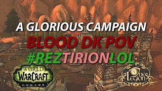 Death Knight Order Hall Campaign Conclusion - A Glorious Campaign / 3rd Relic Slot Unlocked