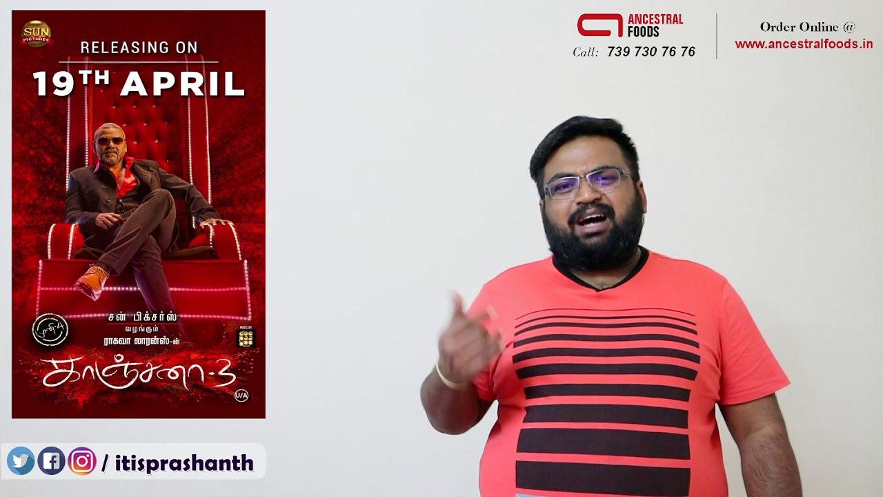 Kanchana 3 review by Prashanth
