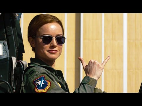 Captain Marvel (Clip 'In the Clouds')