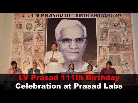 Legendary Director LV Prasad 111th Birthday Celebration